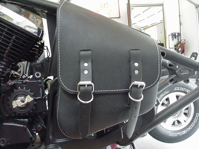 79a0f94f5e20 This is the saddle bag  side cover. This is mounted so well you could  almost pick the bike up by it. This saddle bag came with 4 wimpy leather  straps that ...